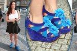 Hvězda seriálu Ohnivý kuře Leichtová: V modrých bagančatech si zkrátila nohy!