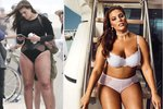 Plus size modelka Ashley Graham ukázala celulitidu a krátké nohy!
