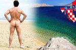 Chorvatsko bez plavek: Velký přehled nudapláží a kempů pro naháče!