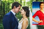Bývalá moderátorka Novy a dnes hvězda ČT se vdala! Pohádkové svatbě předcházely pořádné nervy