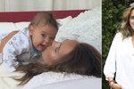 Lucie Vondráčková oslavila 1. narozeniny syna úžasnými snímky! Foto v článku