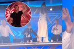 Český trapas v britském X Factoru: Hopsanda mladého Čecha ale roztančila i kata Simona Cowella!