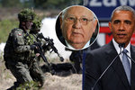 Gorbačov: NATO chce horkou válku s Ruskem. Obama slíbil věrnost ve zlých časech