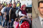 Evropa čelí terorismu a vlně uprchlíků: Můžete si za to sami, vzkazuje Asad