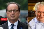 Hlavy státu u kadeřníka: Marnivec Hollande platí čtvrt milionu, Zeman jen pár stovek