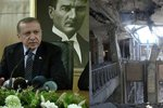 Obrazy státního převratu: Turecký parlament vypadá jako po válce