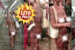Bez kalhotek, jen s kabelkou: Žena jela metrem úplně nahá! Říká si Pražská Venuše