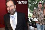 Šokující proměna: Radek John během půl roku ztloustl, zestárl a zešedivěl!