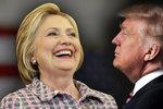 Trump: Volby bychom měli prostě zrušit. Clintonová podle průzkumů vítězí