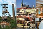 Nejnavštěvovanější české památky: Pražský hrad, plzeňský pivovar i hornické muzeum!