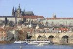 Prahu loni navštívilo přes 7 milionů turistů: Nejoblíbenějším místem je Pražský hrad