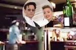 Ukážu ti, jak jsem se zbláznil! Rozzuřený Depp rozmlátil kuchyň. Manželka ho natočila