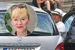 Ohebná Dana Batulková: Při vystupování z auta připomínala hadí ženu!