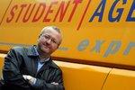 Král žlutých autobusů Jančura po rozvodu: Prodává Student Agency