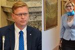 Šlechtová a Bělobrádek se hádali online. Chtěli si zrušit ministerstva