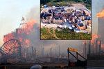 Ohořelá filmová vesnička: Pes příčinu požáru nevyčmuchal, pátrat začne kriminalista