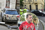 GIBS navrhl obžalovat expolicistu Kadlece: Loni opilý naboural 24 aut