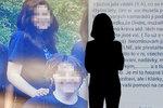 Klára, která chtěla podříznout kamarádku: Nevydržela vaši šikanu, vzkázala matka spolužákům