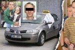První foto taxivraha? K soudu přivedli muže obžalovaného z vražd pražských taxikářů