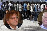 Dle Zemana jdou migranti po dávkách. Expremiér Belgie ho tepe za stupidní nápad
