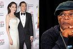 Rozvod Jolie a Pitta: Zlá čarodějnice přišla o svého manžela, napsal Samuel L. Jackson