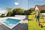 Na zahradě jako v pokojíčku: Podzimní úklid zahrady a bazénu