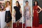 Nej outfity uplynulého týdne: Nestárnoucí Salma Hayek a Naomi Campbell