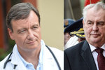 Rath si u soudu stěžuje na Zemana. Prezident prý zasahuje do jeho korupční kauzy