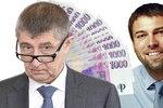 Nejbohatší Češi mají dohromady 846 miliard. Vede Kellner s Babišem