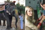 Tereza Maxová na svatební cestě v Indii: Pomáhá opuštěným dětem