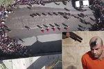 Dvojí poprava ISIS: Označeni jako zvěř, zabiti brokovnicí. Další masakr natáčel dron