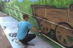 Vdechl nádražnímu podchodu v Uhříněvsi život: Nadějný »grafiťák« Honza má i další plány