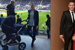 Miss Chlebovská i s kočárem na fotbale! Hubená jako lunt