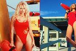 Sexy Lounová v rudých plavkách: Jako Pamela Anderson v Pobřežní hlídce!