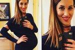 Modelka Lucie Křížková se pochlubila těhotenským bříškem!
