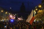 17. listopad v centru Prahy slavilo 40 tisíc lidí, tvrdí operátor. Policie mlčí