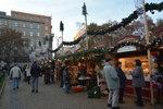 Vánoční atmosféra přichází do Prahy: Příští týden začnou trhy na náměstí Míru i na Andělu