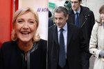 Le Penová se směje, Sarkozy pláče. Do prezidentského paláce se nevrátí