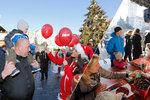 Vánoční překvapení na trzích v centru Prahy: Blesk naděloval