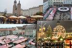 Průzkumná akce Blesku: Jak na advent lákají Drážďany, Krakov, Vídeň, Bratislava a Norimberk?