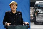 Teror v Berlíně otřásl Merkelovou: Nechceme žít se strachem ze zla. Je to těžké