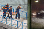 Pád letadla s Alexandrovci: Potápěči vytáhli z moře část trupu zříceného stroje