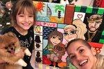 Jak slavili svátky dcera Dary Rolins, synové Aleny Šeredové, Harper Beckham a další děti celebrit?