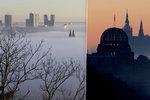 Počasí v hlavním městě: Pražany čeká probouzení do mlhavých rán, odpoledne až 7 stupňů