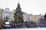 Poslední týden roku bude v Praze převážně oblačný. Objeví se i sněhové přeháňky