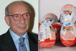 Vynálezce kinder vajíček Salice zemřel. Dětem rozdávají radost, ale i smrt