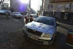 Policejní hlídka se v Českých Budějovicích srazila s osobním autem