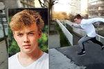 Parkourový skokan (†17) zemřel při záhadné nehodě v metru na Nový rok. Neriskoval s životem, tvrdí přátelé