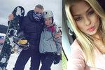Miss Kristýna Kubíčková poprvé na lyžích: Zatím se učím mezi dětmi