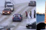 Mráz v Evropě: Za den umrzlo 12 lidí, sníh vyřadil i jadernou elektrárnu
